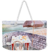 Tea At Furlongs Weekender Tote Bag