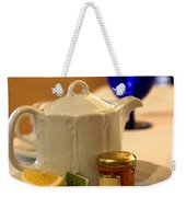 Tea At The Ritz Weekender Tote Bag