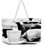 Tea Cup Weekender Tote Bag