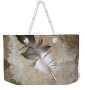 Tea Feather Weekender Tote Bag