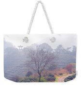 Tea Field Weekender Tote Bag
