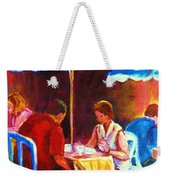 Tea For Two Weekender Tote Bag