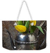 Tea Pot And Tulips Weekender Tote Bag