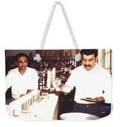 Tea Taster, Calcutta Weekender Tote Bag