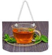 Tea With Mint Weekender Tote Bag
