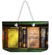 Teacher - Books You Use In School  Weekender Tote Bag