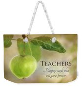 Teachers Weekender Tote Bag