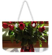 Teak And Roses Weekender Tote Bag