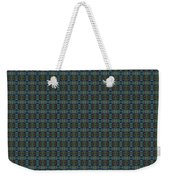 Teal Diamond Crackle From Sunset Strip Weekender Tote Bag
