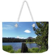 Teapot Lake Weekender Tote Bag