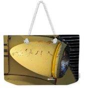 Teardrop Headlight Weekender Tote Bag