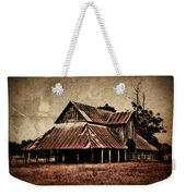 Teaselville Texas Barns Weekender Tote Bag