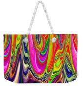 Technicolor Magma Weekender Tote Bag
