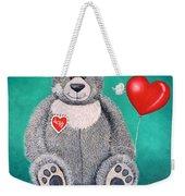 Teddy Bear Eli Weekender Tote Bag