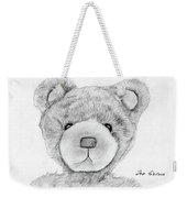 Teddybear Portrait Weekender Tote Bag