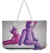 Teddy's Day Weekender Tote Bag