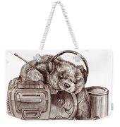Teenage Bear Weekender Tote Bag