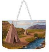 Teepees On The Plains Weekender Tote Bag