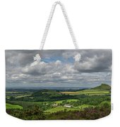 Tees Plain And Roseberry Topping Weekender Tote Bag