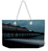 Teignmouth Pier At Dusk  Weekender Tote Bag