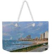 Tel Aviv Beachline Weekender Tote Bag