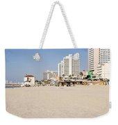 Tel Aviv Coastline Weekender Tote Bag