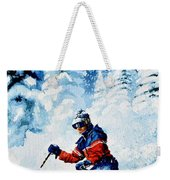Telemark Trails Weekender Tote Bag