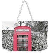Telephone Weekender Tote Bag