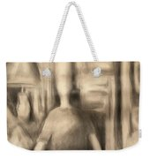 Television Tube Self-portrait Weekender Tote Bag