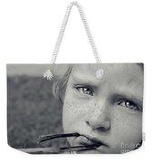 Tell Me What's Wrong Weekender Tote Bag