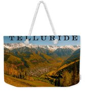 Telluride Colorado Weekender Tote Bag by David Lee Thompson