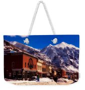 Telluride For The Holiday Weekender Tote Bag