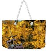 Telluride Spirituality - Colorado - Autumn Aspens Weekender Tote Bag