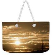 Telstra Tower Sunset Weekender Tote Bag