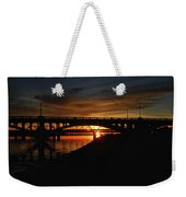 Tempe Bridge Sunset  Weekender Tote Bag