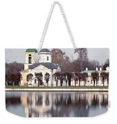 Temple And Bell Tower Weekender Tote Bag