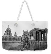 Temple Architecture Weekender Tote Bag