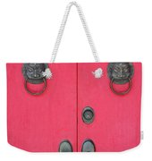 Temple Doors Weekender Tote Bag