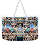 Temple Facade Chennai India Weekender Tote Bag