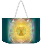 Temple Fire Chalice Weekender Tote Bag