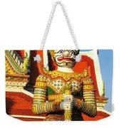 Temple Guardian Weekender Tote Bag