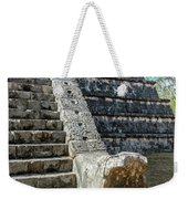 Temple In Chichen Itza Weekender Tote Bag