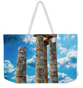 Temple Of Apollon Weekender Tote Bag
