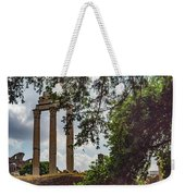 Temple Of Castor And Pollux Weekender Tote Bag