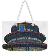 Temple Of Heaven Weekender Tote Bag