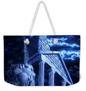 Temple Of Hercules In Kassel Weekender Tote Bag