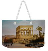 Temple Of Isis On The Nile River Weekender Tote Bag