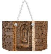 Temple Of Jupiter Anxur Weekender Tote Bag by Yair Karelic