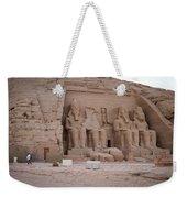 Temple Of Rameses II Weekender Tote Bag