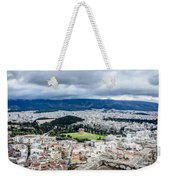 Temple Of Zeus - View From The Acropolis Weekender Tote Bag
